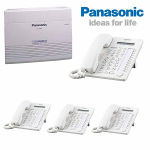 Panasonic-Telephone-with-4-Extensions