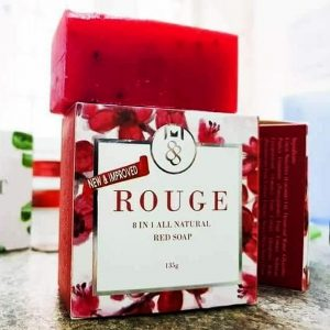 Rouge 8 in 1 All Natural Red Soap
