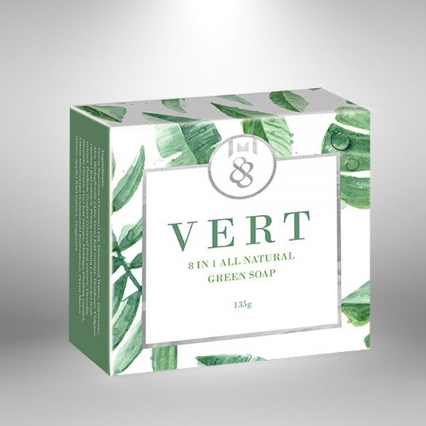 Vert 8 in 1 All Natural Green Soap