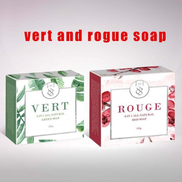 Vert and Rouge Soap - 8 in 1 natural soap