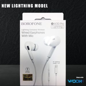 Borofone BM30 Pro Lightning Converse wired Earphones with Mic
