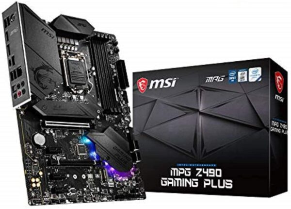 MSI MPG Z490 Gaming Plus Gaming Motherboard,