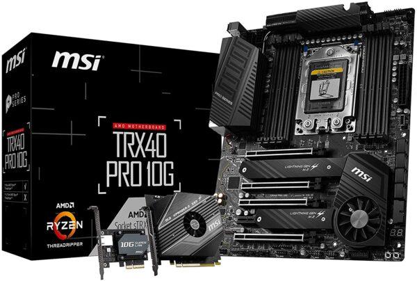 MSI TRX40 PRO 10G Motherboard,