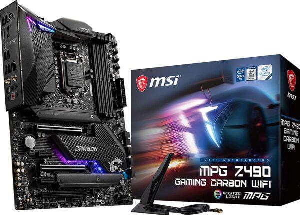 MSI MPG Z490 GAMING CARBON WIFI Gaming Motherboard