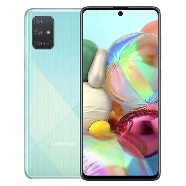 Samsung A71 Dual Sim Dubai FD Mix Blue -1
