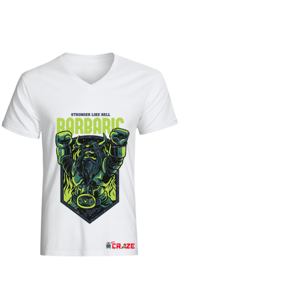 Barbaric tshirt design -100% cotton Dubai