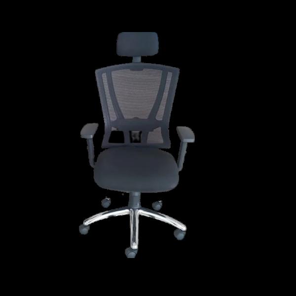 The Best Furnishings Multifunctional Modern High Back Chair - Black